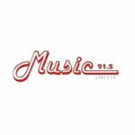 Logo da emissora Radio Music 91.5 FM