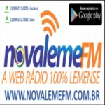 Logo da emissora Nova Leme FM