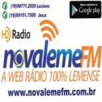 Logo da emissora Radio Nova Leme FM