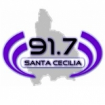 Logo da emissora Radio Santa Cecilia 91.7 FM