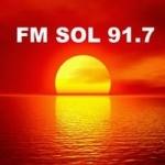 Logo da emissora Radio Sol 91.7 FM