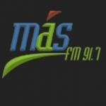 Logo da emissora Radio Mas 91.7 FM