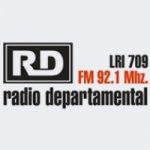 Logo da emissora Radio Departamental 92.1 FM