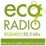 Logo da emissora Eco Radio Rosario 92.3 FM