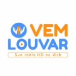 Logo da emissora Rádio Vem Louvar
