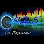Logo da emissora Radio Popular 92.5 FM