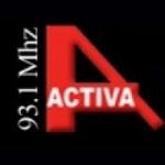 Logo da emissora Radio Activa 93.1 FM
