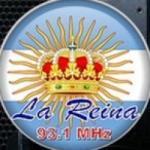 Logo da emissora Radio La Reina 93.1 FM