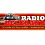 Logo da emissora Radio Belgrano 93.3 FM