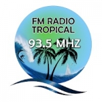 Logo da emissora Radio Tropical 93.5 FM