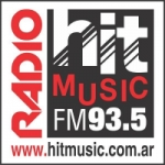 Logo da emissora Radio Hit Music 93.5 FM