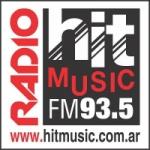 Logo da emissora Radio Hit Music 93.5 FM