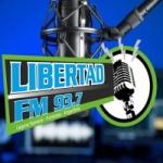 Logo da emissora Radio Libertad 93.7 FM