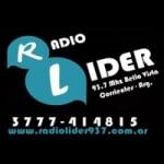 Logo da emissora Radio Lider 93.7 FM