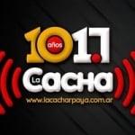 Logo da emissora Radio La Cacharpaya 101.7 FM