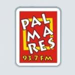 Logo da emissora Radio Palmares 93.7 FM