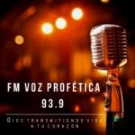 Logo da emissora Radio Voz Profética 93.9 FM