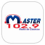 Logo da emissora Radio Master 102.9 FM