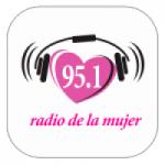 Logo da emissora Radio Mujer 95.1 FM