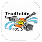 Logo da emissora Radio Tradicion 105.3 FM