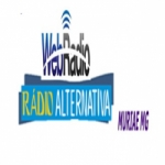 Logo da emissora Rádio Alternativa Muriaé
