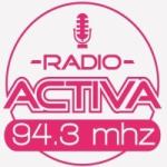 Logo da emissora Radio Activa 94.3 FM