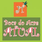Logo da emissora Boca do Acre Atual JT
