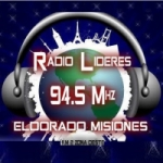 Logo da emissora Radio Lideres 94.5 FM