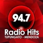 Logo da emissora Radio Hits 94.7 FM
