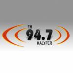 Logo da emissora Radio Kalyfer 94.7 FM