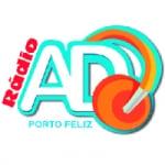 Logo da emissora Rádio AD Porto Feliz