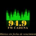 Logo da emissora Radio Cadena 94.9 FM