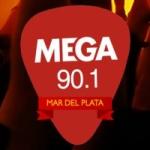 Logo da emissora Radio Mega 90.1 FM