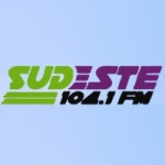 Logo da emissora Radio Sudeste 104.1 FM