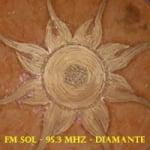 Logo da emissora Radio Sol 95.3 FM