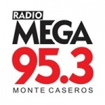 Logo da emissora Radio Mega 95.3 FM