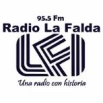 Logo da emissora Radio La Falda 95.5 FM