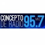 Logo da emissora Radio Concepto 95.7 FM