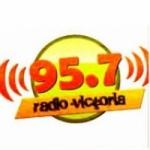 Logo da emissora Radio Victoria 95.7 FM