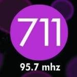 Logo da emissora Radio Estación 711 95.7 FM