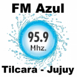 Logo da emissora Radio Azul 95.9 FM
