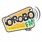 Logo da emissora Rádio Orobó 105.9 FM