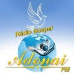 Logo da emissora Rádio Gospel Adonai FM