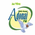 Logo da emissora Rádio Gospel Adonai