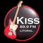 Logo da emissora Rádio Kiss 89.9 FM