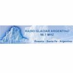 Logo da emissora Radio Glaciar Argentino 96.7 FM