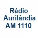 Logo da emissora Rádio Aurilândia 1110 AM