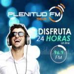 Logo da emissora Radio Plenitud 96.9 FM