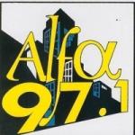 Logo da emissora Radiodifusora Alfa 97.1 FM