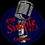 Logo da emissora Radio Simple 97.3 FM